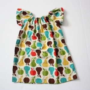Handmade Apples and Pears Dress From Etsy
